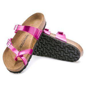 BIRKENSTOCK Mayari Sandal Metallic Pink Sz 39 US 8